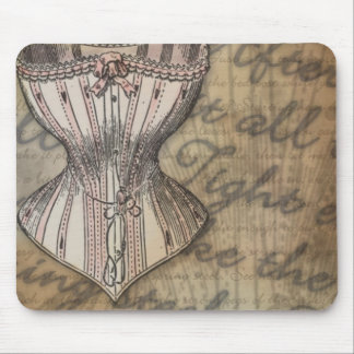 Corset Collage Mouse Pad