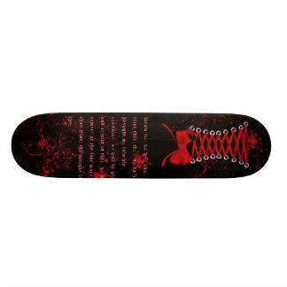 Corset Goth / Punk Skateboard