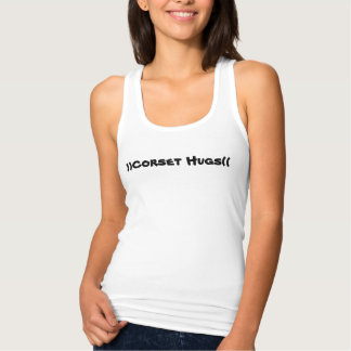 )) Corset Hugs (( Liner Racerback Tank