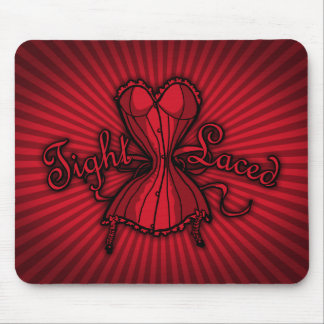Corset Tight Laced Mouse Pad