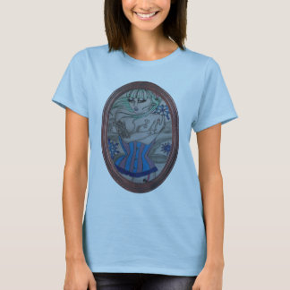 corsets and tattoos in winter snow T-Shirt