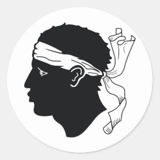 Corsica Classic Round Sticker