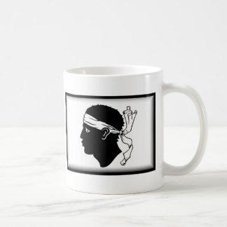 Corsica Flag Classic White Coffee Mug