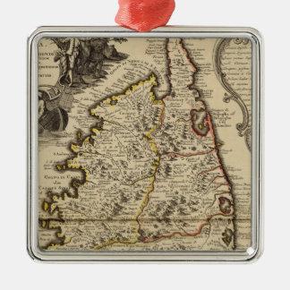 Corsica Metal Ornament