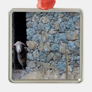 Corsica sheep metal ornament