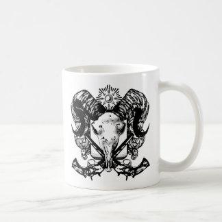 CORSICAN RAM HEAD COFFEE MUG