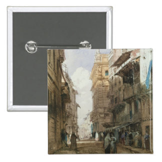 Corso Sant'Anastasia, Verona, con el palacio de P Pin Cuadrada 5 Cm