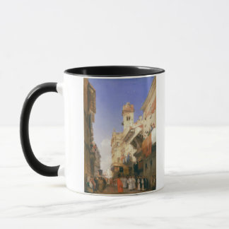 Corso Sant'Anastasia, Verona (oil on panel) Mug