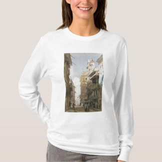 Corso Sant'Anastasia, Verona, with the Palace of P T-Shirt