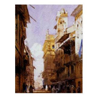 Corso Sant'Anastasia, Verona, with the Palace Postcard