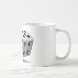 Corta imagen en cuadritos taza