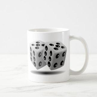 Corta imagen en cuadritos taza clásica