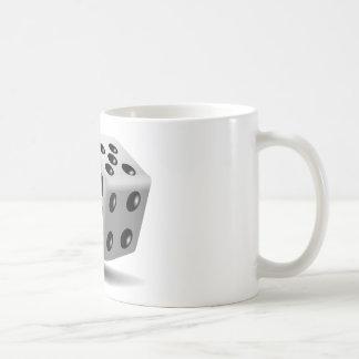 Corta la suerte de juego de los números en taza clásica