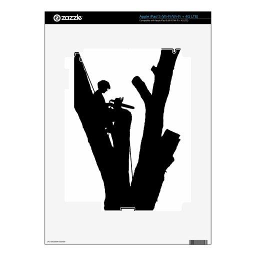 Cortador del árbol iPad 3 skin