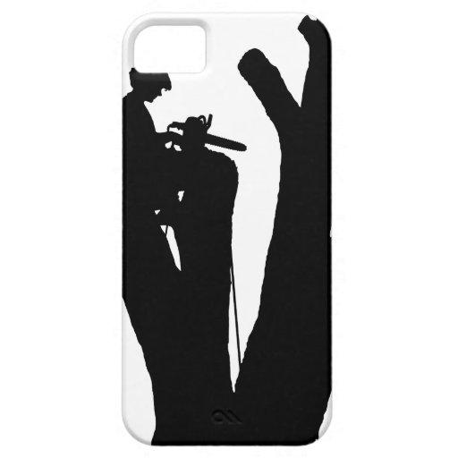 Cortador del árbol iPhone 5 Case-Mate funda