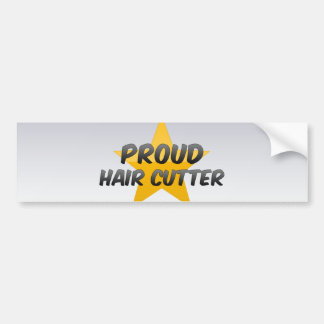 Cortador orgulloso del pelo pegatina para auto