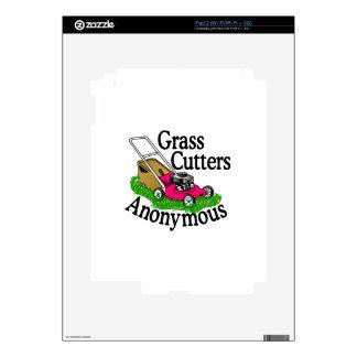 Cortadores de hierba calcomanía para iPad 2