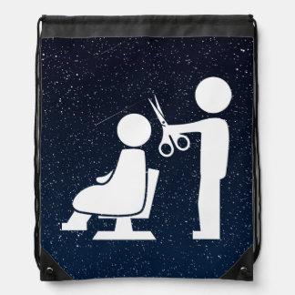 Cortadores del peluquero mínimos mochila