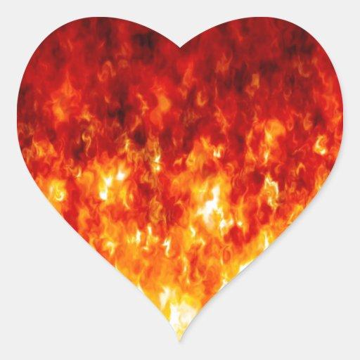 Cortafuego abstracto colcomanias corazon