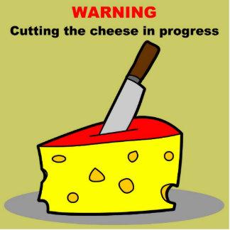 cortar el queso llavero fotográfico