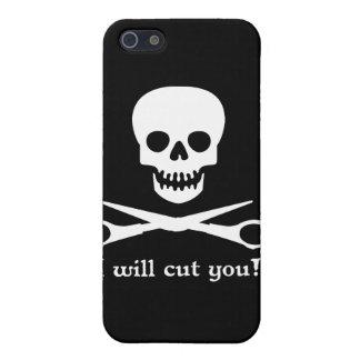 Cortaré you_2011_WHT iPhone 5 Protectores