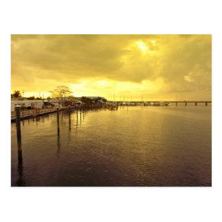 Corte Bridge to Anna Maria Island Postcard