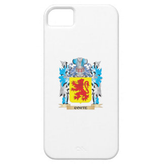Corte Coat of Arms - Family Crest iPhone 5 Case
