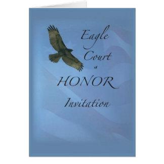 Corte de 3895 Eagle de la invitación del honor Tarjeta De Felicitación