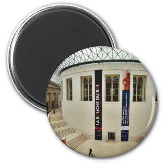 Corte de centro de British Museum en Londres Engla Iman De Nevera