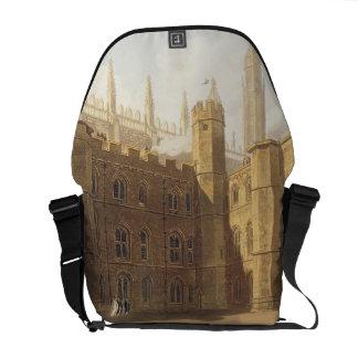 Corte de College de rey, Cambridge, 'del Hist Bolsas De Mensajería