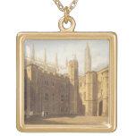 Corte de College de rey, Cambridge, 'del Hist Colgante Cuadrado