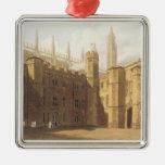 Corte de College de rey, Cambridge, 'del Hist Adorno Cuadrado Plateado