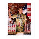 Corte de Eagle de la postal del honor