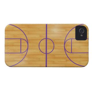 Corte de la bola de la cesta iPhone 4 cárcasas