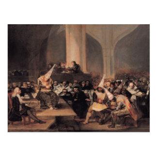 Corte de la inquisición tarjetas postales