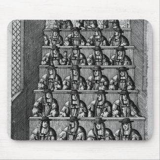 Corte de los concejales, c.1690 alfombrillas de raton