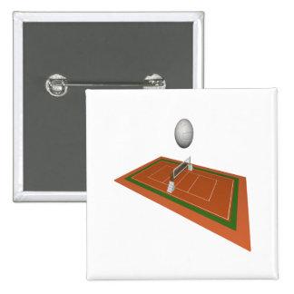 Corte de voleibol pins