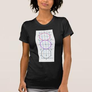 corte del Dressage de los 20x60m ** círculos ** Camiseta