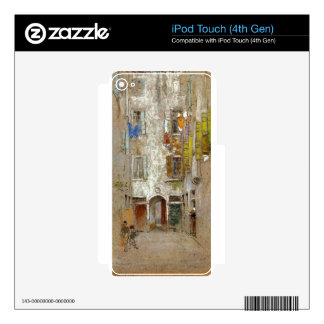 Corte del Paradiso by James McNeill Whistler Decals For iPod Touch 4G