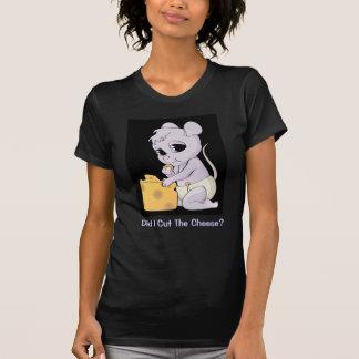 ¿Corté el queso? - Camiseta menuda para las Poleras