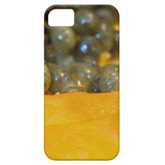 Corte la sección de la papaya iPhone 5 carcasas