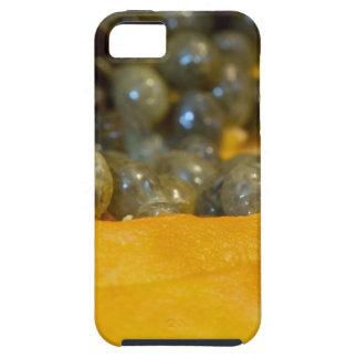 Corte la sección de la papaya iPhone 5 Case-Mate funda