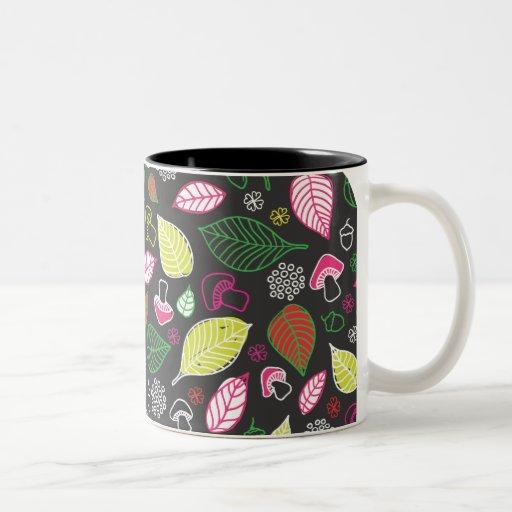 Corte la taza natural de los doodles de los feafs