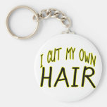 Corte mi propio pelo llavero