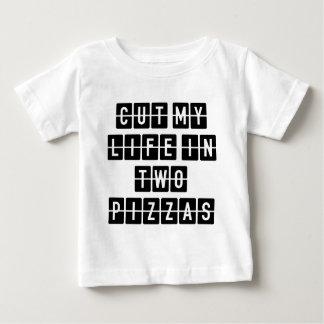 Corte mi vida en dos pizzas remera