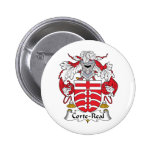 Corte-Real Family Crest Button