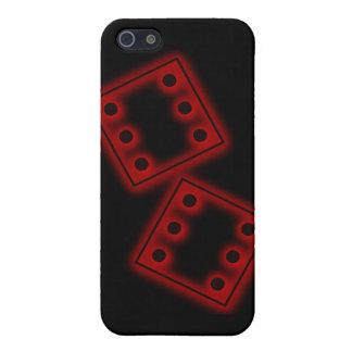 Corte seis sixes en cuadritos que muere el rollo d iPhone 5 funda