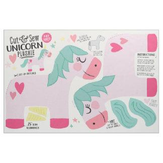 Corte y cosa la tela del unicornio - felpa de la telas
