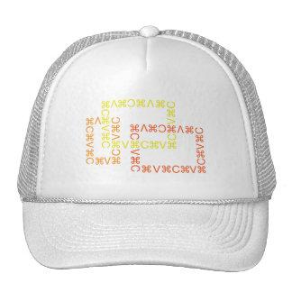 Corte y pegue el casquillo 3 gorras