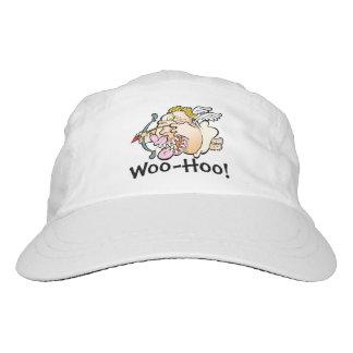 Corteje-Hoo el gorra del blanco del Cupid Gorra De Alto Rendimiento